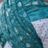 Kaami Slings mit Leinen in blau
