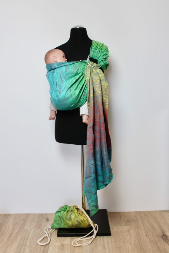 Rainbow-Feather Ringsling